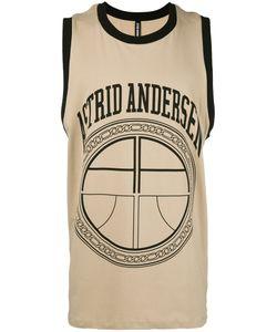 Astrid Andersen   Logo Print Sleeveless T-Shirt