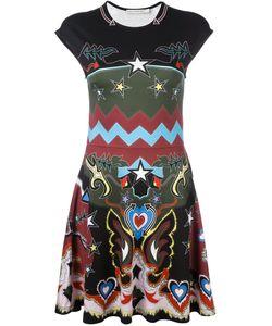 Mary Katrantzou   Платье С Абстрактным Принтом Pinto