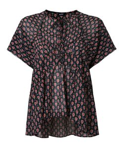 Jil Sander Navy | Shortsleeved Blouse 34 Polyester