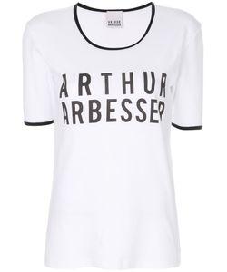Arthur Arbesser | Contrast Trim Logo T-Shirt Women