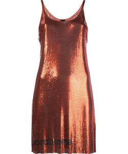 Paco Rabanne | Minimesh Logo Dress