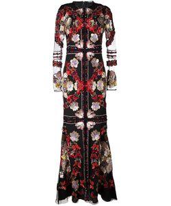 Alexander McQueen   Вечернее Платье С Вышивкой