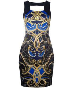 Versace Jeans | Ornate Print Mini Dress