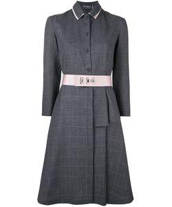 Salvatore Ferragamo | Платье-Рубашка С Поясом