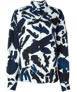 Jil Sander | Рубашка С Абстрактным Узором