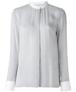 Michael Michael Kors | Полосатая Рубашка С Воротником-Стойкой