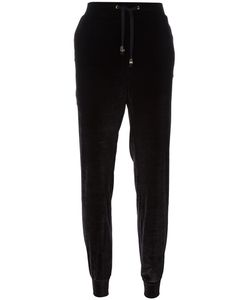 Versace Jeans | Tapered Velour Track Pants