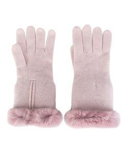 N.PEAL | Перчатки С Меховой Отделкой