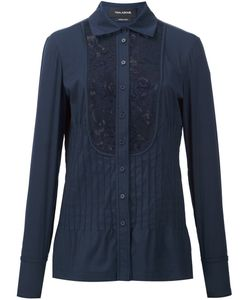 Yigal Azrouel | Lace Inset Shirt