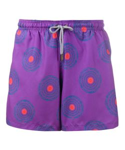Okun | Circle Print Swim Shorts