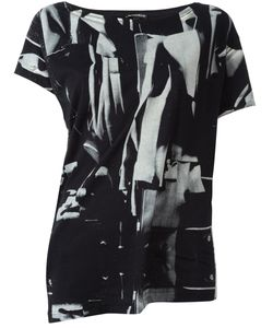 Ann Demeulemeester | Abstract Print T-Shirt