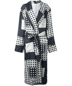 Dolce & Gabbana | Polka Dot Squares Coat