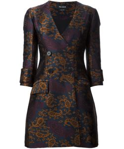 Yigal Azrouel | Jacquard Double Breasted Coat Dress