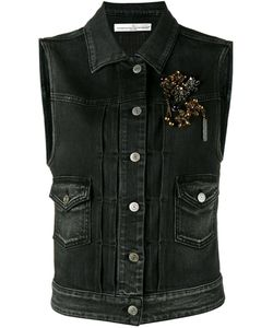 Golden Goose | Jewelled Denim Gilet