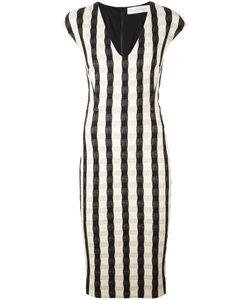 Victoria Beckham | Платье-Футляр В Клетку