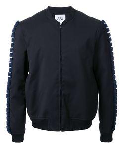 Wan Hung   Куртка-Бомбер С Объемной Геометрической Отделкой