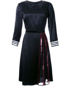Marc Jacobs | Атласное Платье С Пайетками