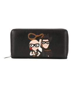 Dolce & Gabbana | Family Patch Zip Wallet