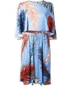 Emilio Pucci | Feather Print Dress