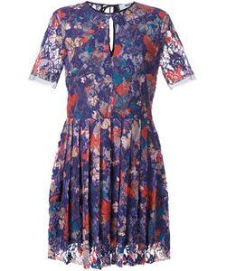 MSGM | Кружевное Платье С Цветочным Узором
