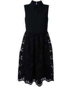 No21 | Платье Без Рукавов С Кружевной Юбкой