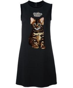 Dolce & Gabbana | Платье Шифт С Заплаткой В Виде Котенка