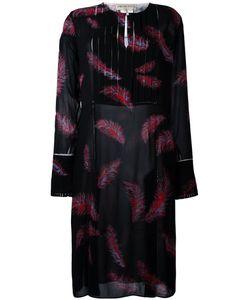 Emilio Pucci | Платье С Принтом Перьев