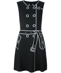BOUTIQUE MOSCHINO | Платье С Графическим Принтом