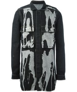 RICK OWENS DRKSHDW | Bleach Stain Denim Jacket