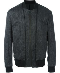 SYSTEM HOMME | Quilted Bomber Jacket