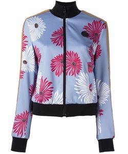 MSGM | Куртка-Бомбер С Цветочным Принтом