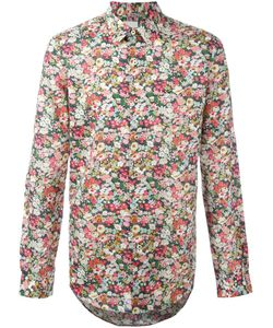 Paul Smith | Рубашка С Цветочным Принтом