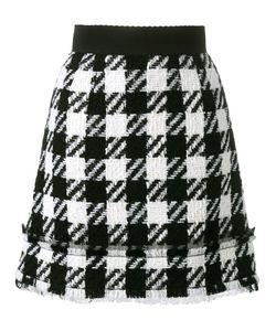 Dolce & Gabbana | Houndstooth Skirt