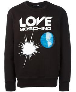 Love Moschino | Толстовка С Принтом Логотипа