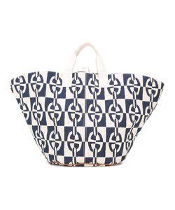 Hermès Vintage | Chain Print Shopper Tote