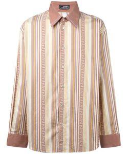 Versace | Полосатая Рубашка Greca