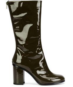 Marios | Vinyl Mid-Calf Boots