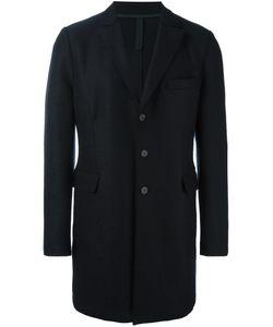 Harris Wharf London | Single-Breasted Flap Pockets Coat