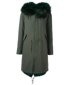 Furs66 | Парка С Панельным Дизайном И Меховой Отделкой
