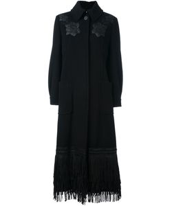 Antonio Marras | Embroidered Fringed Coat