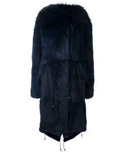 Furs66 | Парка С Капюшоном И Меховой Отделкой