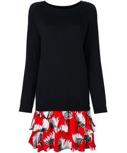 BOUTIQUE MOSCHINO | Платье-Свитер Комбинированного Кроя