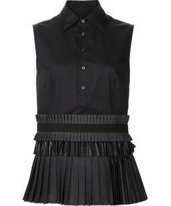 Dsquared2 | Платье-Рубашка С Плиссированной Юбкой