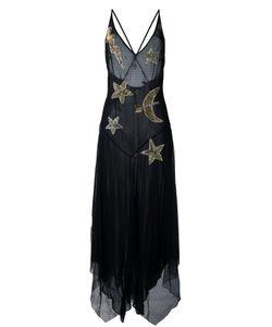 Amen   Прозрачное Платье С Декорированными Звездами