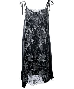 Antonio Marras | Embellished Lace Overlay Shift Dress