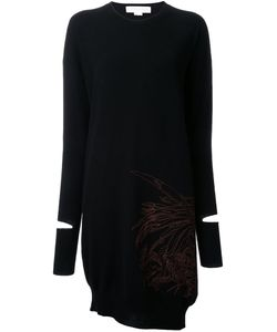Stella Mccartney | Embroidered Sweater Dress
