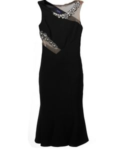 Marchesa Notte | Jewel Embellished Fitted Dress