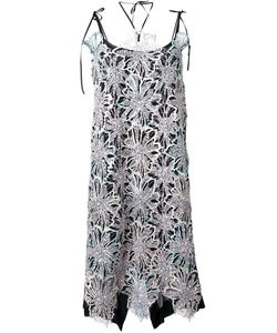 Antonio Marras | Embellished Lace Overlay Dress
