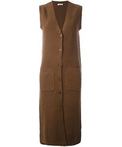 P.A.R.O.S.H. | Удлиненное Трикотажное Пальто Без Рукавов