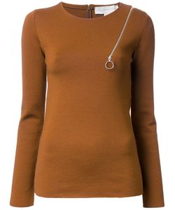Stella Mccartney | Zip Shoulder Detail Jumper